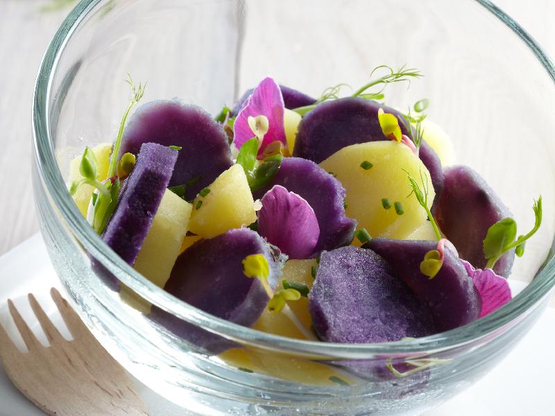 Salade de Prunelle et de Ratte du Touquet