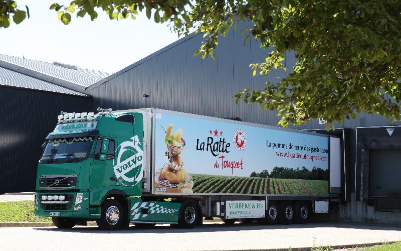 expédition camion Ratte du Touquet